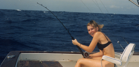 Triple time deep sea fishing key west florida for Out of state fishing license florida