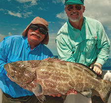 Key West grouper wreck and reef fishing